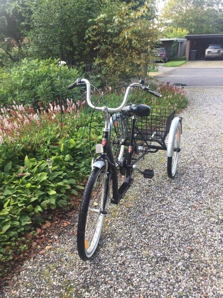 Handicapcykel, Lindebjerg, 3 gear