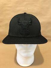 New Era 9FIFTY Chicago Bulls Jersey Tone OSFA Snapback Original Fit Black