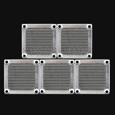 1x 6cm PC Case Cooling Fan 60mm Aluminum Dustproof Dust Mesh Grill Guard Filter
