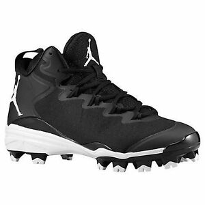 08ff80b524b NIKE AIR JORDAN SUPERFLY 3 MCS BASEBALL CLEATS BLACK MEN SIZE 15 ...