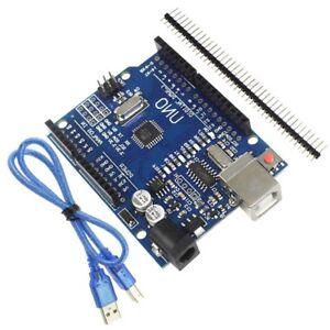 UNO-R3-ATmega328P-CH340G-Development-Board-For-Arduino-USB-Cable
