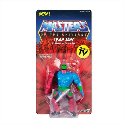 Masters of the Universe Vintage Collection Action Figure Trap Jaw 14 cm Super7