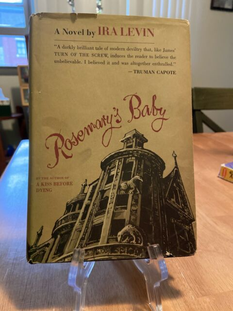 Hardcover Rosemary's Baby By Ira Levin 1967 Book Club Edition