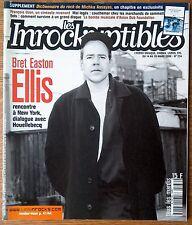 les inrockuptibles 234 Bret Easton Ellis Ozon Houellebecq Eels Asian Dub Foundat