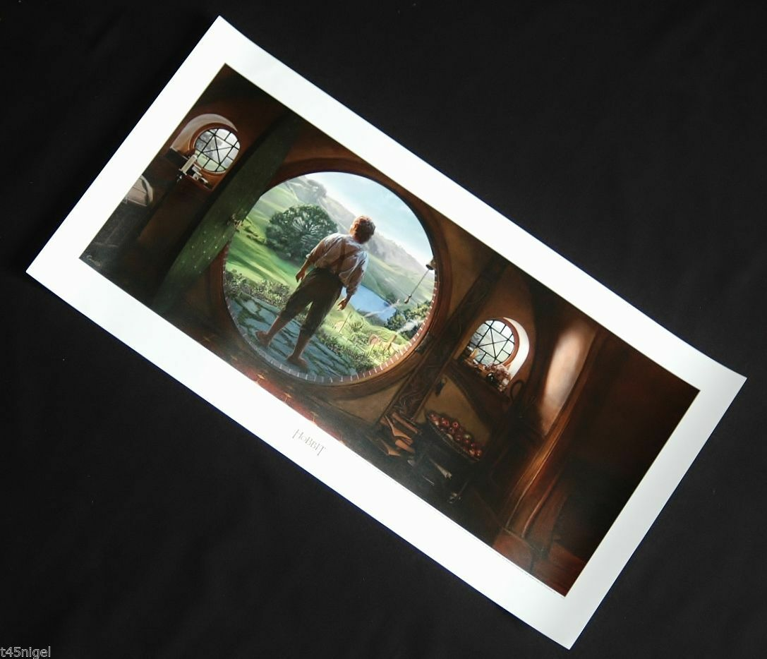 HOBBIT / LORD OF THE RINGS - An Unexpected Journey -Art Print WETA Genuine LOTR.
