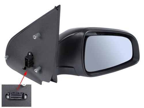 Ala Espejo Derecho Eléctrico Negro Para Opel Astra V MK5 H 2003
