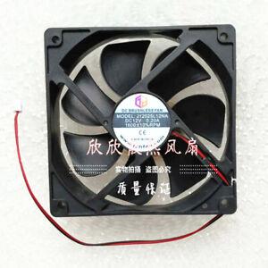 1PC XINRUILIAN 12CM 12025 12V 0.18A RDH1225S 2-wire power cooling fan