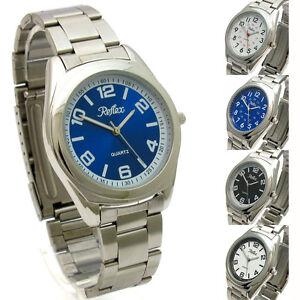 Reflex-Gents-quartz-watch-with-Stainless-Steel-Bracelet-FREE-UK-POST
