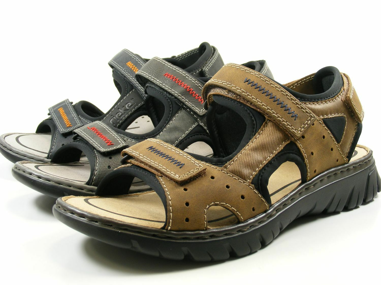 Rieker 26757 Schuhe Herren Trekking Sandalen