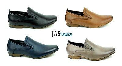 Oficina Inteligente Zapatos Informales Para hombres Jas Slipon Trabajo Fiesta Style UK Size 6 7 8 9 10 11