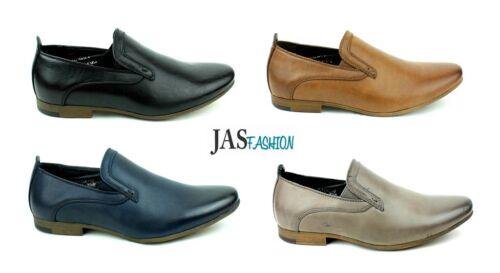 Zapatos Para Hombre Casual De Oficina Inteligente resbalón en el Trabajo Fiesta Style UK Size 6 7 8 9 10 11