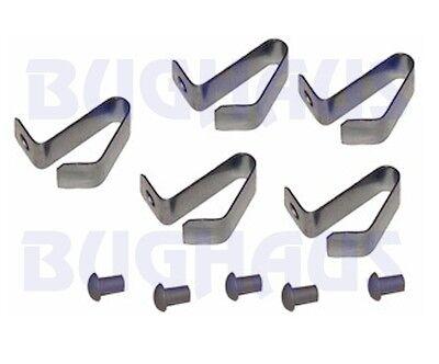 SETS 111698131 SET OF 20 4 COMPLETE VW BUG BUS GHIA T3 HUB CAP CLIPS /& RIVETS