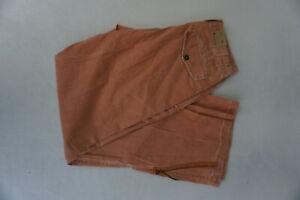 Alberto-Gary-Uomo-Comfort-Fit-Pantaloni-Chino-Jeans-Gr-48-W31-L34-Albicocca-Neu