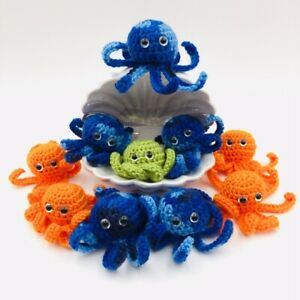 Awesome Crochet Octopuses : Mini Amigurumi Octopus Free Crochet ... | 300x300