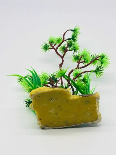 Planta De Acuario Artificial árbol De Plástico para Peces Tanque de agua