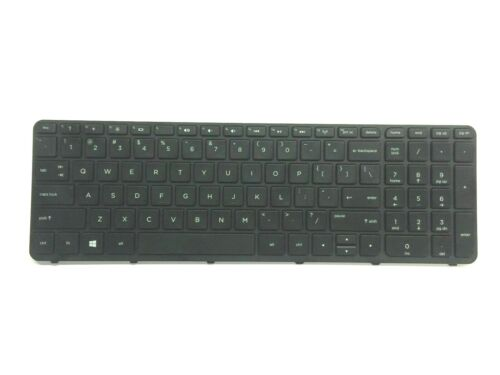 HP Pavilion 15-E 15-F 15-G 15-N 15-R 15-S Series US Black Keyboard with Frame