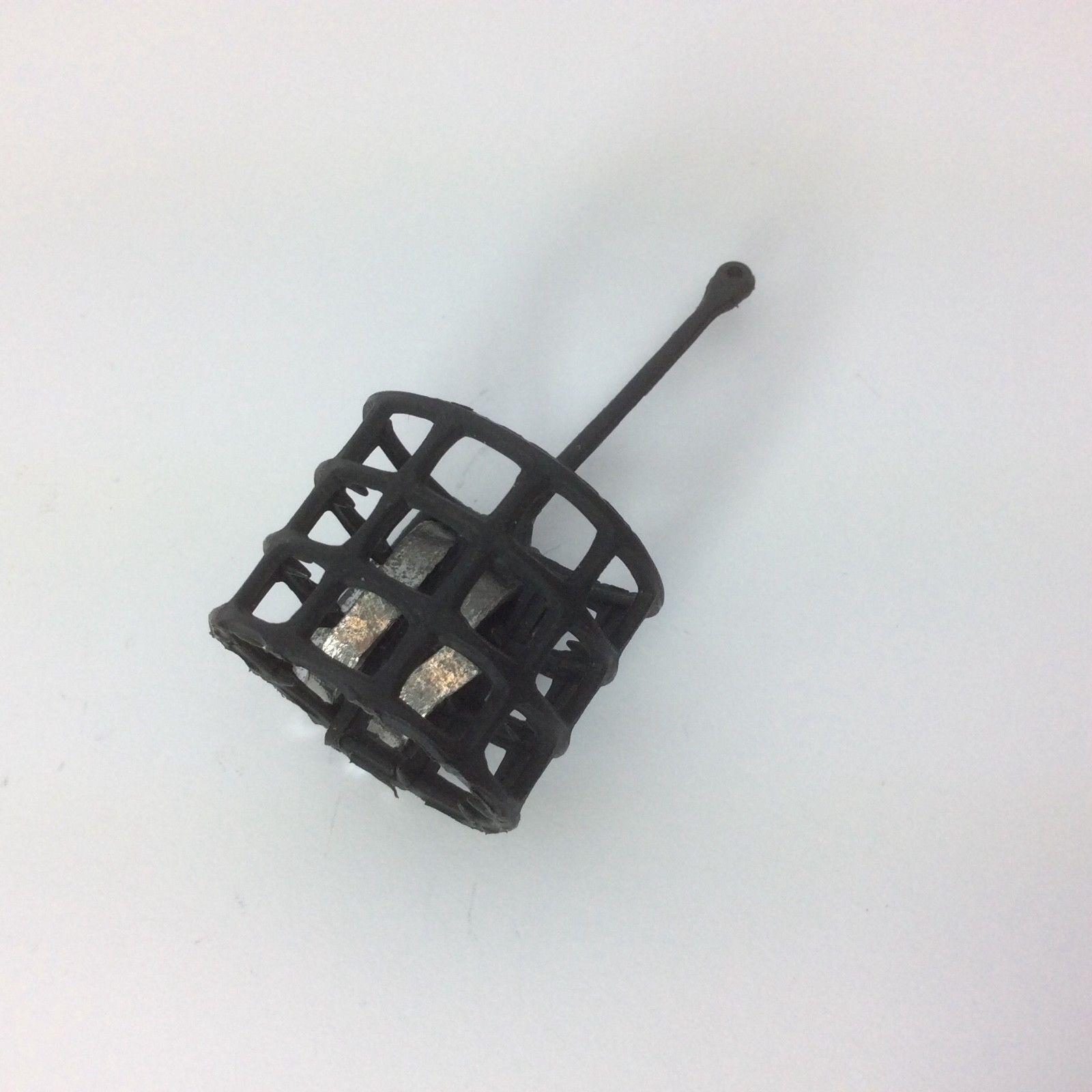 Futterkorb 19g rund schwarz offen Futter Korb Korb Korb Super zum Angeln Feederkorb NEU  | Nutzen Sie Materialien voll aus  5ea745