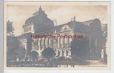 (87902) Foto Ak Freiburg Im Breisgau, Theater, Vor 1945