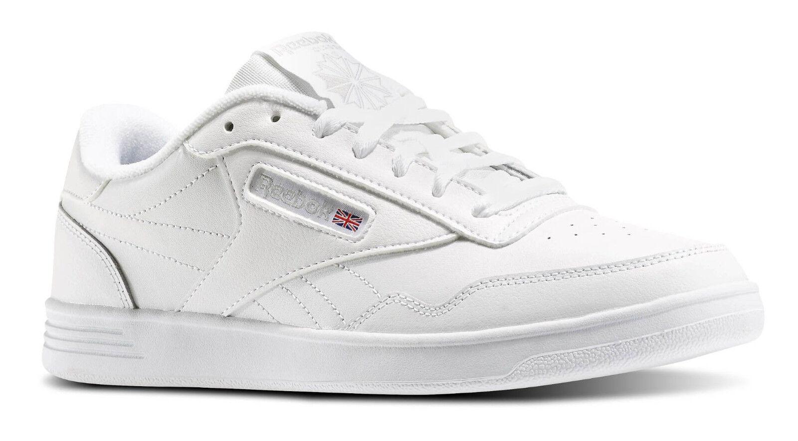 Reebok Classic Club Memt Lifestyle Acier Blanche Homme Baskets Chaussures de tennis V63340