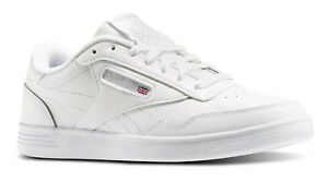 8ab1dec3366f Reebok Classic Club Memt Lifestyle White Steel Mens Sneakers Tennis ...