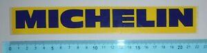 ADESIVO STICKER VINTAGE AUTOCOLLANT AUFKLEBER MICHELIN ANNI'80 22x3 cm