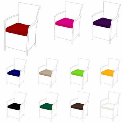 Rose 8 pack de remplacement chaise salle à manger coussins pour s/'adapter en rotin meubles de jardin