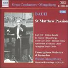 Bach: St. Matthew Passion (CD, Mar-2004, 3 Discs, Naxos (Distributor))