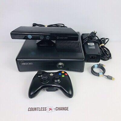 Microsoft Xbox 360 Slim With 120 Gb Of Storage, Kinect ...
