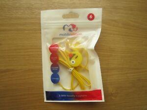 New-Mobilewizard-Yellow-Emoji-Earphone-3-5mm-Novelty-Birthday-Stocking-Filler