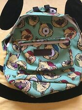 DROP DEAD CLOTHING SMILES KITTY BRAINZ BACKPACK BAG SHOULDER OVERNIGHT