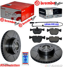 Brembo MAX Sport Bremsen KIT Vorne+WK VA 324mm BMW 5 E39 520 525 535 530 535 540