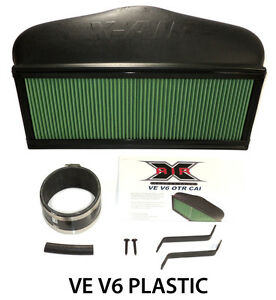 Commodore-VE-V6-CAPA-X-Air-OTR-Cold-Air-Intake-Induction-Plastic-Alloytec-xair