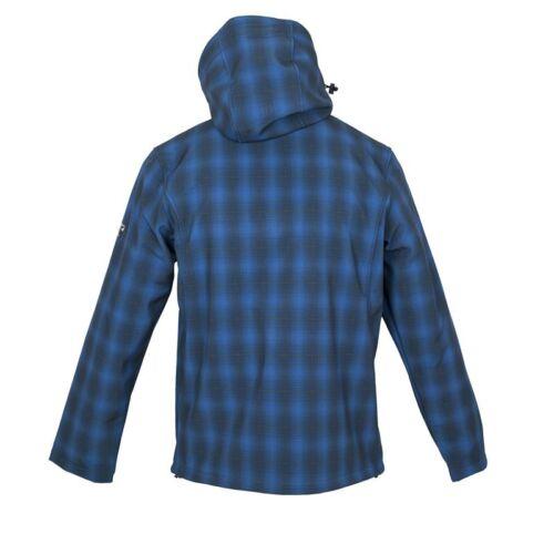 Petrol M-XXL Blau; Größen Deproc Herren Softshelljacke ISLAY Peak Men Farben