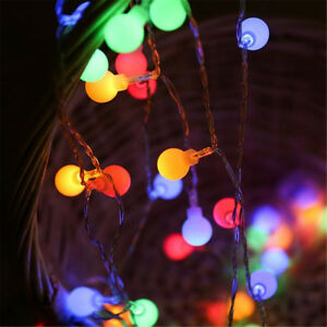 image is loading 20 50 led round ball christmas outdoor garden