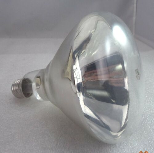 Philips BR40 Infrared Reflector Heat Lamp Clear Finish Standard Base p//n 250BR40