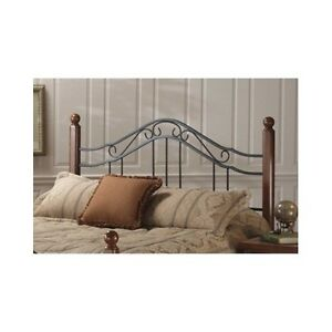 Queen Wood Headboard Full King Size Bed Cherry Finish