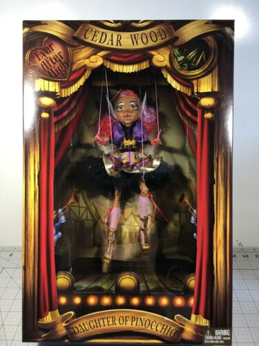 2016 SDCC Ever After High CEDAR WOOD Marionette Doll Comic Con Exclusive