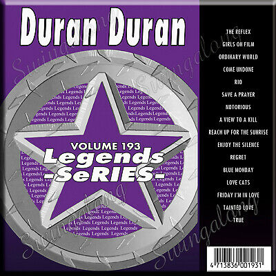 Capable Karaoke Cd+g Legend Series 16 Tracks Duran Duran Vol-193 New In Vinyl W/print Musical Instruments & Gear