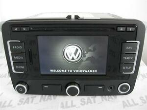 newest vw rns 315 rns315 navigation system sat nav gps vw. Black Bedroom Furniture Sets. Home Design Ideas
