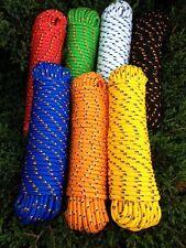 Nr.34 Orange Bootsleine 16 mm,30m,Bänder,Seil,Tauwerk,Tau,Reepschnur,Reep,Rope