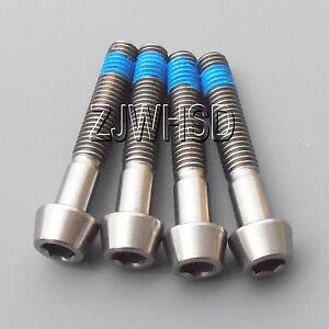 4pcs-M5-x-30-mm-Titanium-Ti-Screw-Bolt-Allen-Hex-Taper-Socket-Cap-Head-Blue