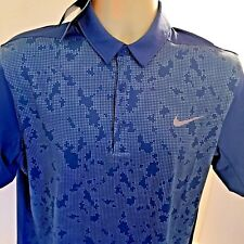 96f6ead7 item 5 New With Tags Tiger Woods Nike Men's Golf Polo Dri-Fit Standard Blue  Sz M -New With Tags Tiger Woods Nike Men's Golf Polo Dri-Fit Standard Blue  Sz M