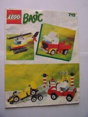 715 Instruction Nr Suche Nach FlüGen Lego® Bauanleitung