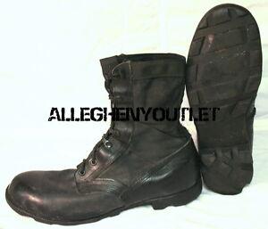 Image is loading US-Military-NYLON-JUNGLE-COMBAT-BOOTS-Panama-Sole- 3f380ac957c