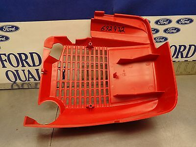 Maruyama OEM NOS 261782 Engine Top Cover Shroud Guard Scratches Scuffs Dirty
