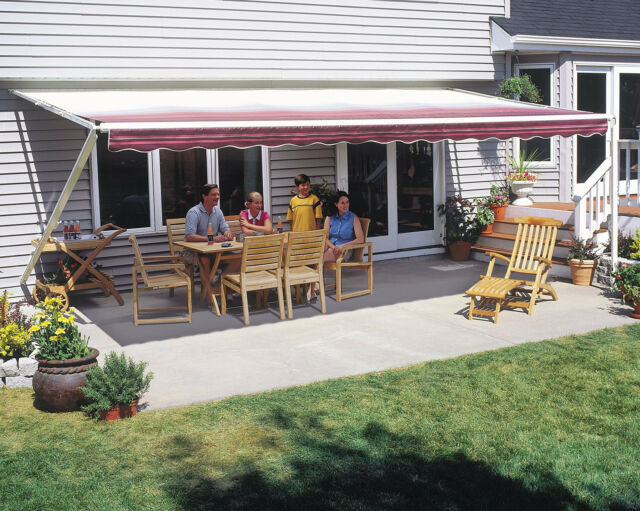 SunSetter Manual Retractable Awning, 10x10 ft  1000XT Model Deck & Patio  Awning