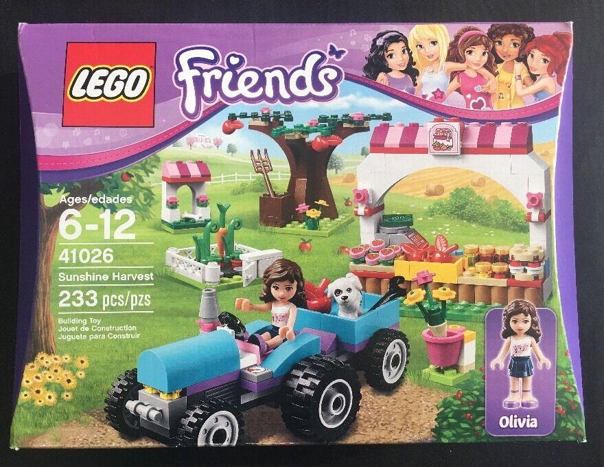 LEGO vänner Sunshine Harvest (41026) 233 Pcs. Inkluderar Olivia Mini Figur