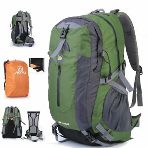 US-40L-Outdoor-Hiking-Camping-Backpack-Trekking-Climbing-Travel-Rucksack-Bag-BT