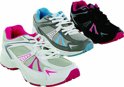 LADIES ENERGY JOGG RUNNING TRAINERS WOMENS LACE UP SHOES UK SIZES 3-9