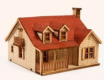 Western House B / Wooden model kit